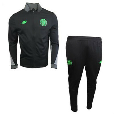 New Balance Celtic Player Issue Tracksuit - Farbe Schwartz - Gr. Medium (M)