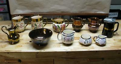 Luster Ware Lot of Eleven