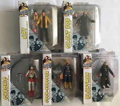 Jay and Silent Bob Strike Back Action Figure Sets Clerks Dogma Mallrats