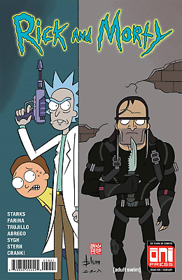 RICK AND MORTY (2015) #39 - Cover B - New Bagged