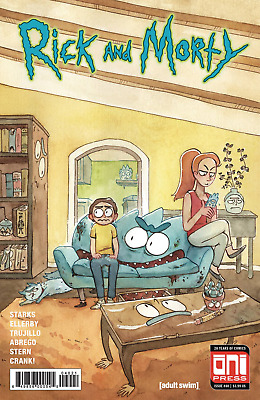 RICK AND MORTY (2015) #40 - Cover B - New Bagged