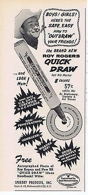 1960 Advertisement - SPEEDRY PRODUCTS, RICHMOND HILL, NY - ROY ROGERS