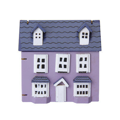 1:12 Small Wooden House With Three-storey Dolls House Miniature Accessory