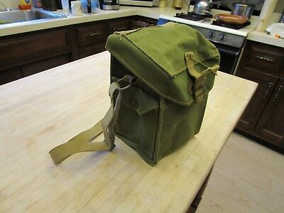 Dated 1944 WW2  FIRST AID?   BAG  ( CANVAS ) with STRAP