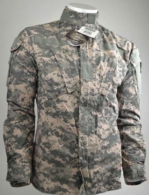 NEW ARMY FR FLAME RESISTANT USGI ACU SHIRT FRACU MR Medium Regular