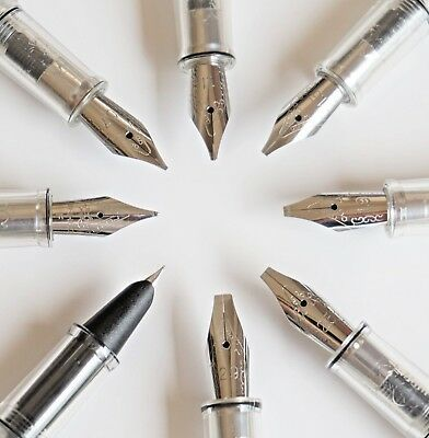 JINHAO 992 0.38/0.5/0.7/1.1/1.5/1.9/2.5/2.9mm Nib Fountain Pen Italic Stub - UK!