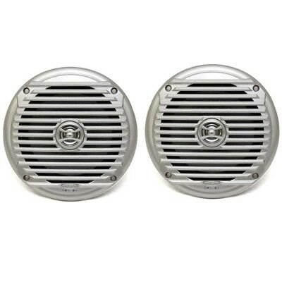 Jensen Boat Coaxial Speakers MS6007SR | 6 1/2 Inch Silver 60W (Pair)