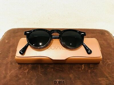 OLIVER PEOPLES GREGORY PECK BLACK 360€ RRP Sunglasses