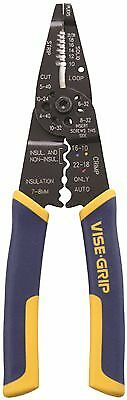"""Irwin Multi Tool Stripper/Cutter/Crimper With Protouch Grips 8"""""""
