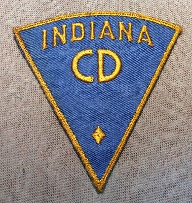 IN Indiana Civil Defense Police Patch