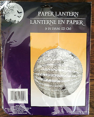 "2 PCS Halloween paper lantern (NO lamp) Halloween Party Decoration - 9"" DIAMETER"