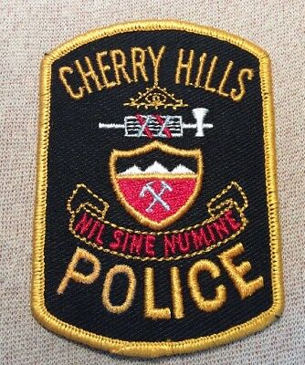 CO Cherry Hills Colorado Police Patch