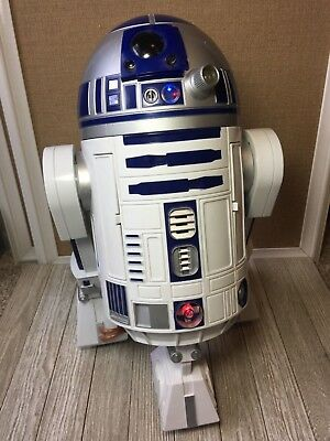 Hasbro Star Wars R2D2 Interactive Astromech 2002 Voice Activated