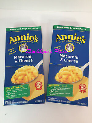 Annie's Macaroni & Cheese Classic 6 oz. lot of two Boxes Expire date Jan 2019