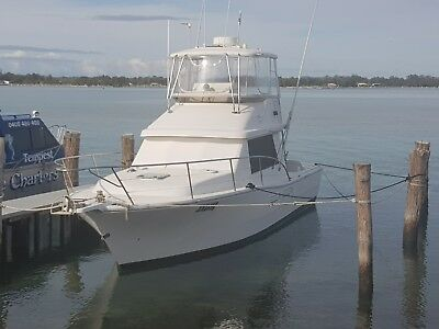 STEBER 36 GAMEFISHER FLYBRIDGE Caterpillar diesel engines