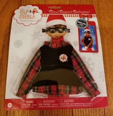 NEW Elf on the Shelf Claus Couture Hip Holiday Wear Sweater Clothing Outfit