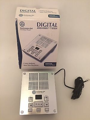 Southwestern Bell Digital Answering System FA972IS Industrial Silver