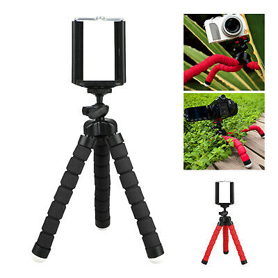 Universal Mini Tripod Octopus Stand Mount Phone Holder for iPhone X 8 7 Samsung