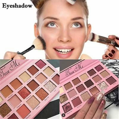 Beauty Tease Me Eye Shadow Palette Creations Satin Matte Shimmer 18 Shades