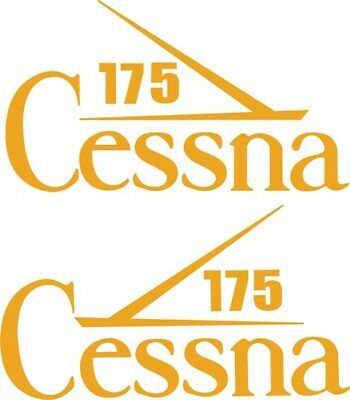 Cessna 175 Aircraft Tail Decal,stickers!