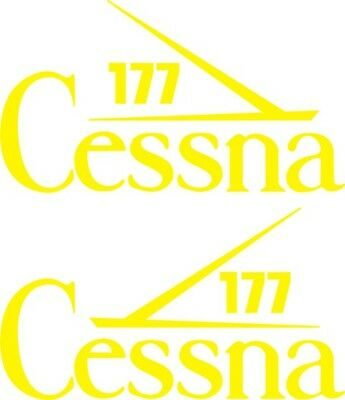 Cessna 177 Aircraft Tail Decal,stickers!