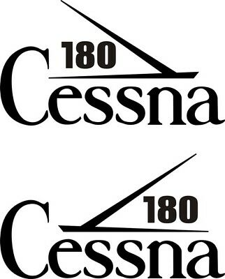 Cessna 180 Aircraft Tail Decal,Stickers!