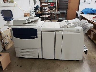 Xerox 700 Copier bustled Fiery and Saddle Stitch Finisher