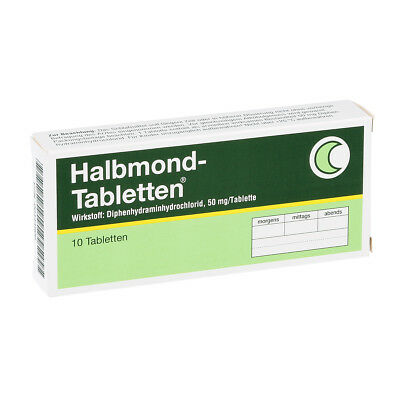 Halbmond-Tabletten 50mg 10stk PZN 00444808