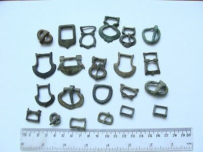 Very beautiful Ancient Viking Kievan Rus Many Belt Buckles  9 -15 century!