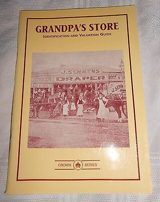 Book Grandpa's Store Identification Valuation Price Guide Ken Arnold 1995