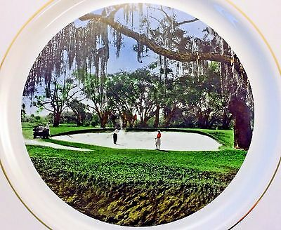 The Cloister Golf Club Sea Island GA Second Green Number 3 Tee Collector Plate