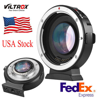 Viltrox EF-M2 Auto Focus Lens Mount Adapter fr Canon EOS EF Lens to MTF M4/3 Cam