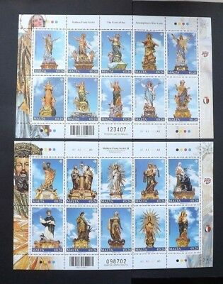 Malta 2017. Maltese Festa - Assumption of Our Lady. Mint Never Hinged MNH Sheet