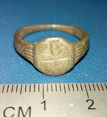 Old Silver Ring of the 17th century
