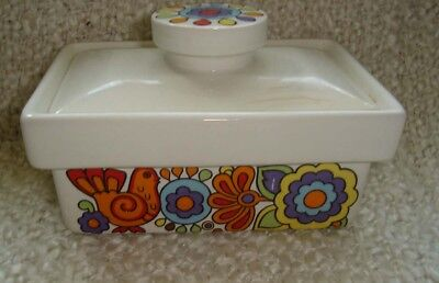 Lord Nelson Gaytime Pottery Butter Dish