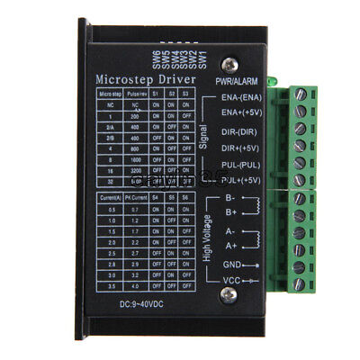 CNC TB6600 Single Axis 4A Stepper Motor Driver Controller 9~40V Micro-Step UK