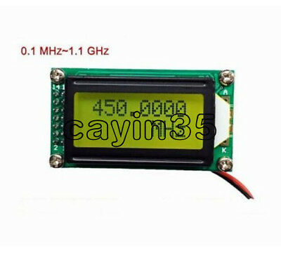 NEW 1MHz ~ 1.1 GHz Frequency Counter Tester Measurement For Ham Radio