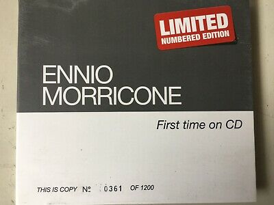 ENNIO MORRICONE - First Time On CD Digipak 2016 Heristal Excellent Cond! OST
