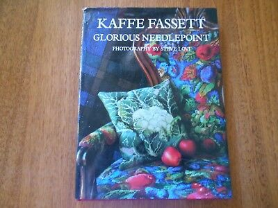 Kaffe Fassett - Glorious Needlepoint - Hard Cover In Good Condition -