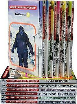 NEW Choose Your Own Adventure Books 1- 6 : Box Set By R A Montgomery Paperback