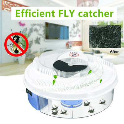 Electric USB Automatic Flycatcher Fly Trap Pest Reject Control Catcher RE