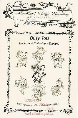 A Gay /'90/'s Bride Hot Iron Embroidery Transfers by MaMaw/'s Vintage Embroidery
