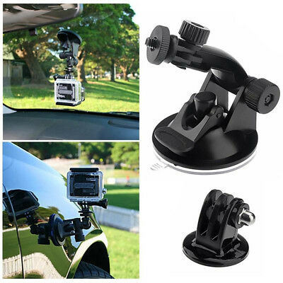 Car Windshield Suction Cup Mount Tripod Adapter For GoPro Hero 3+/3/2/1 Camera