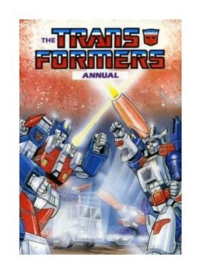 The Transformers Annual Hardcover – 1987 - Vintage Book