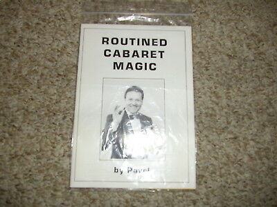 Routined Cabaret Magic Pavel book first ed