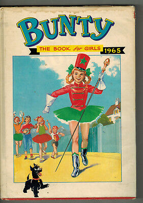 BUNTY FOR GIRLS 1965 Annual in dustwrapper