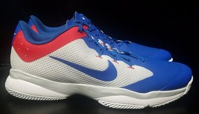 reputable site 8fe2f 7320f New Nike Air Zoom Ultra Size 11.5 Mens Tennis Shoes 845007 114 Federer Nadal