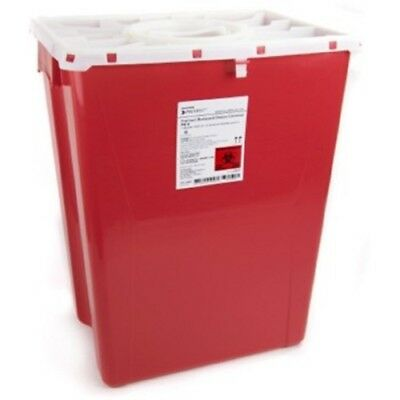 McKesson Prevent Sharps Container, 18 Gallon Red, Case of 7, *GREAT DEAL!*