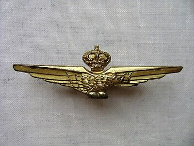 Italian Kingdom Pilot Badge, Type 1930/37 Before The Introduction Of The Fascio.