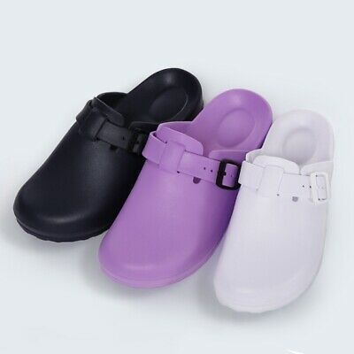 Doctor Clogs Slippers Hospital Lab Anti-slip Shoes Breathable Operation Shoes